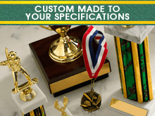 Trophy Engraving - Rhinelander, WI - Feight's Trophies & Bar Supplies