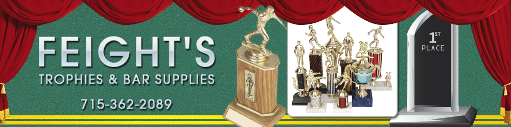 Trophies - Rhinelander, WI - Feight's Trophies & Bar Supplies