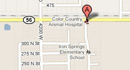 Color Country Animal Hospital 390 North 4050 West, Cedar City, UT 84720