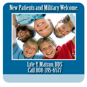 Dental Teeth Whitening - Honolulu, HI  - Lyle Y. Matsuo, DDS - New Patients and Military Welcome.   Lyle Y. Matsuo, DDS Call 808-395-6577