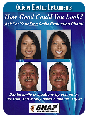 Oral Dentistry - Honolulu, HI  - Lyle Y. Matsuo, DDS - Quieter Electric Instruments  Lyle Y. Matsuo, DDS Call 808-395-6577
