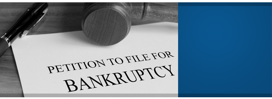Document that says petition to file for bankruptcy