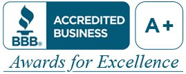 BBB A+ Awards for Excellence