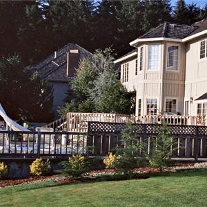 Privacy Fence - Covington, GA - Steve Long Fence LLC - house with pool
