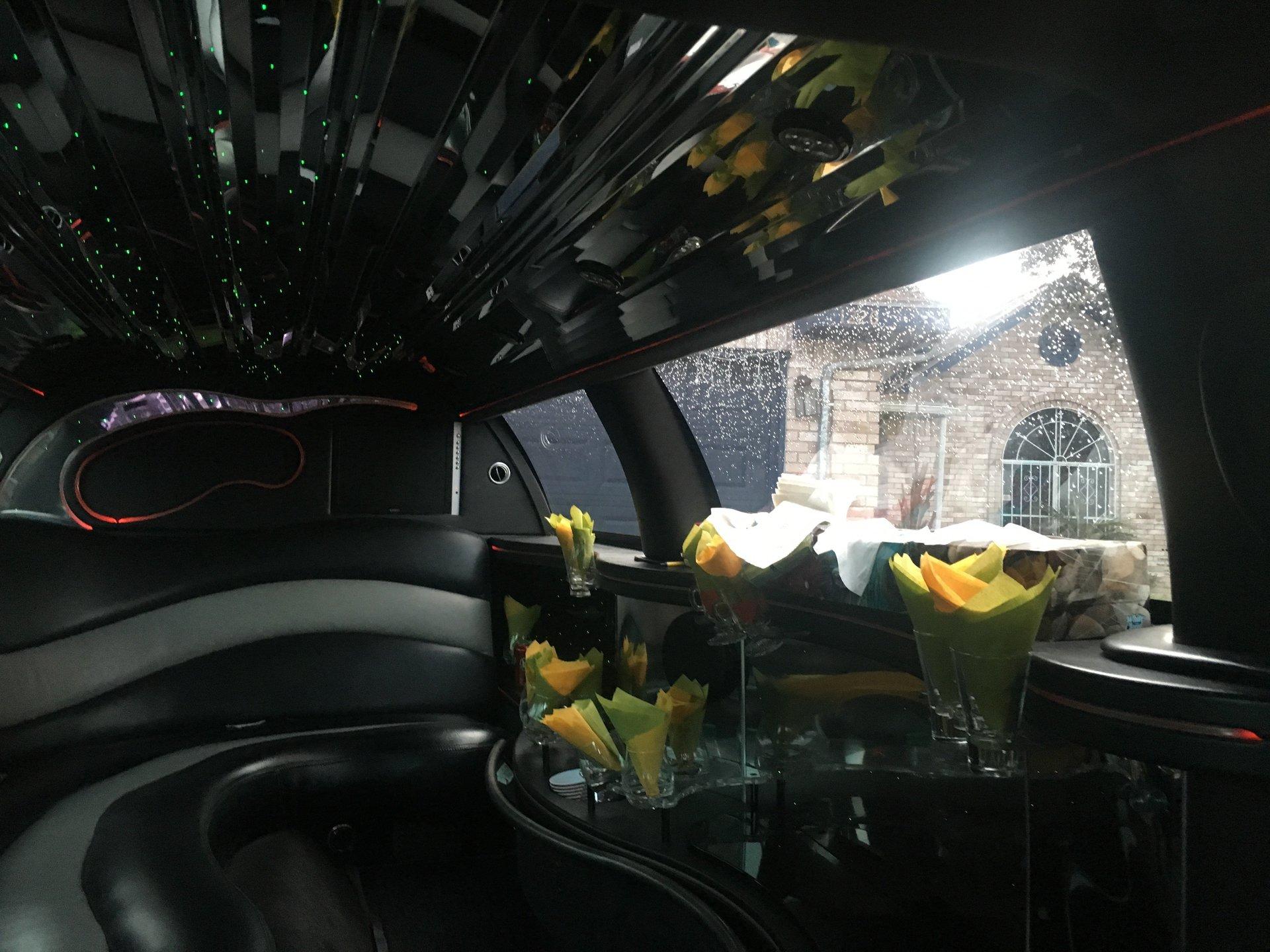 Limousine  interior