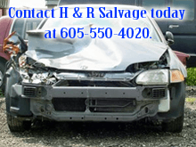 Cars Used - Mitchell, SD - H & R Salvage - wrecked car - Contact H & R Salvage today at 605-550-4020.