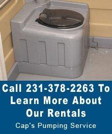 Porta Potty Rental  - Thompsonville,  MI  - Cap's Pumping Service