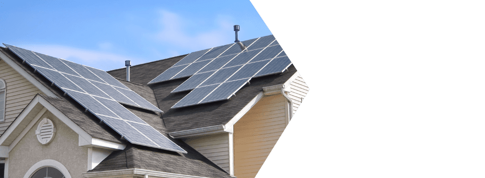 House With Solar Power System