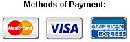 Superior Shuttle accepts Mastercard, Visa and American Express