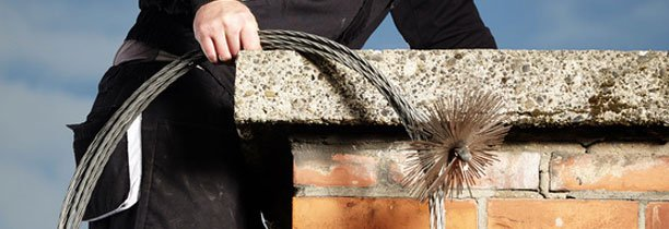 Effective chimney cleaning