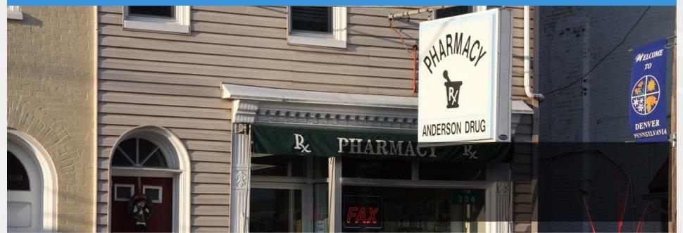 Drugstore | Denver, PA | Anderson Pharmacy | 717-336-2292