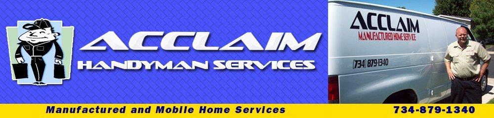Handyman - Ypsilanti, MI - Acclaim Handyman Services