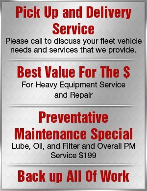 Fleet Vehicle and Heavy Equipment Service - Salt Lake City, UT - JBC Maintenance & Repair