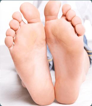 A pair of foot
