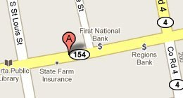 Falkenhein Accounting & Tax Service PC  -  165 West Broadway Street, Sparta, IL 62286