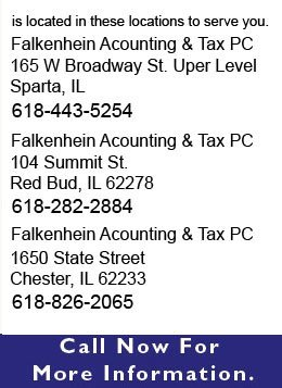 Accounting - Sparta and Red Bud, IL  - Falkenhein Accounting & Tax Service PC