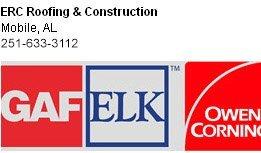 Roofers - Mobile, AL - ERC Roofing & Construction