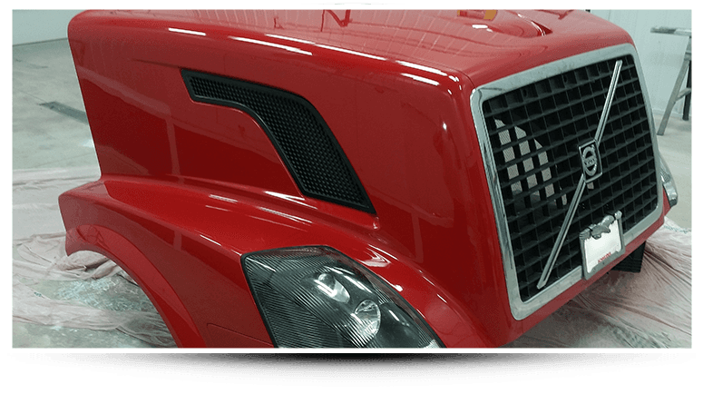 Volvo hood