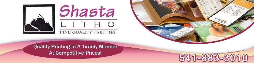 Printing Services - Klamath Falls, OR - Shasta Litho