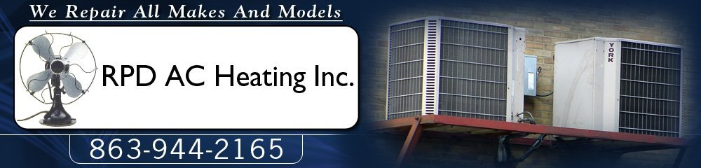 Air Conditioner Sales, Installations, Service and Repairs - Lakeland, FL - RPD AC Heating Inc.