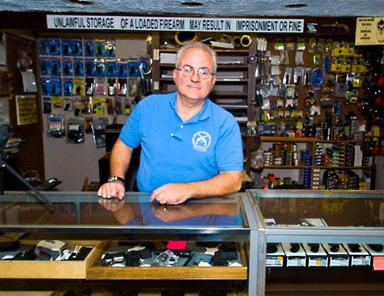 Chris Indoor range & gun shop owner