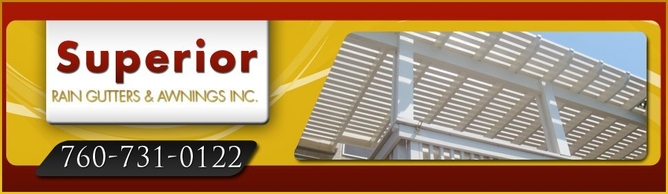 Patio Covers - Fallbrook, CA - Superior Rain Gutters & Awnings Inc. | 760-731-0122