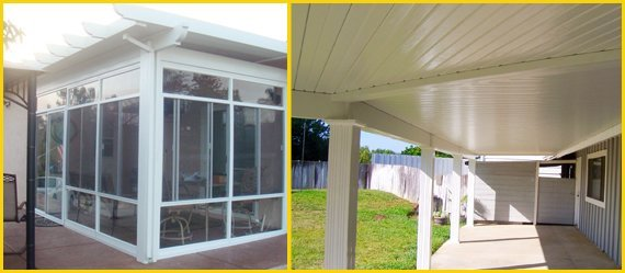 Fallbrook, CA - Patio Covers - Superior Rain Gutters & Awnings Inc.