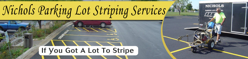 Parking Area Mattoon, IL - Nichols Parking Lot Striping Services