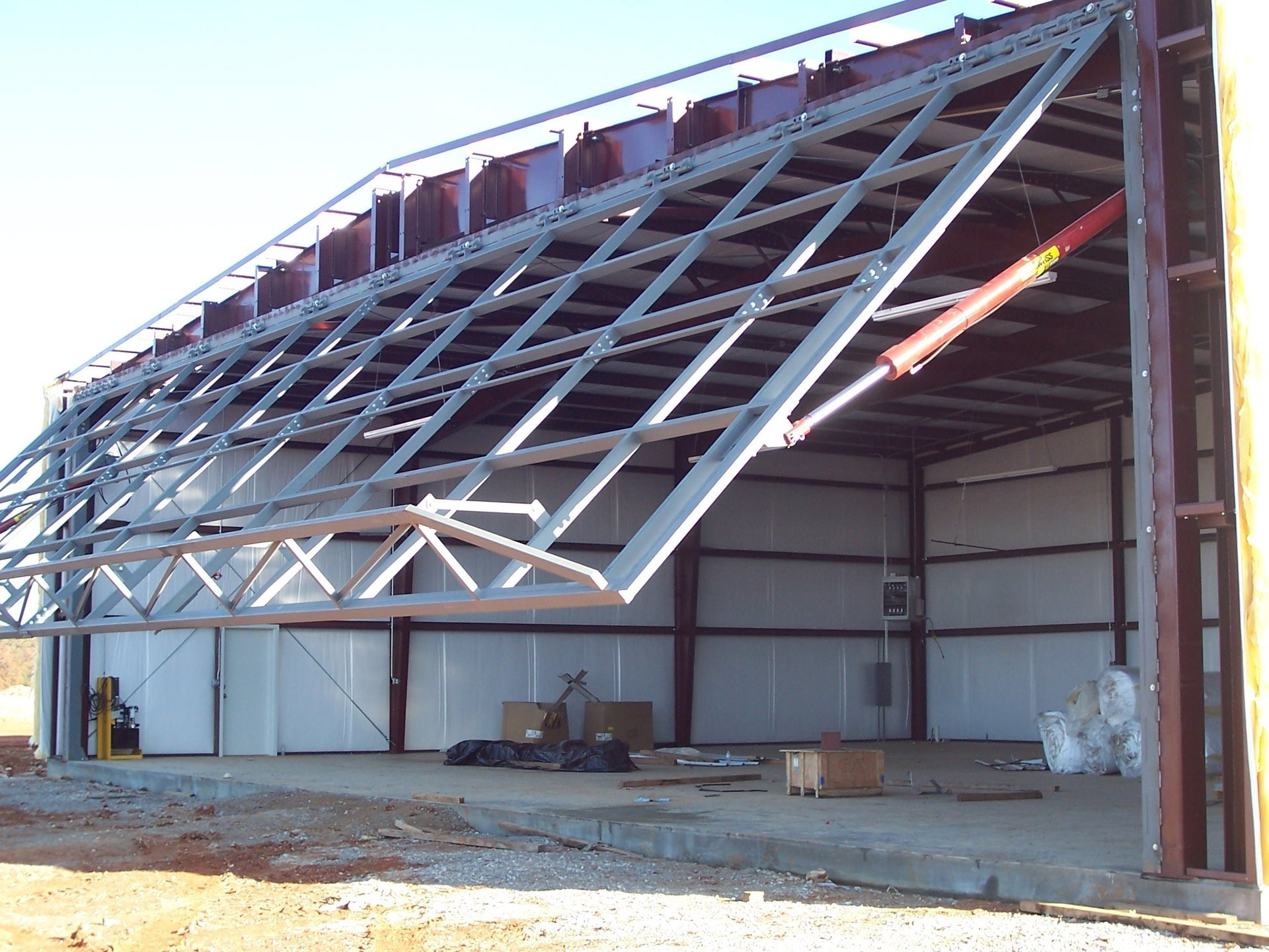 Construction and Roofing Work