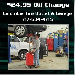 Auto Repair Shop - Columbia, PA - Columbia Tire Outlet & Garage