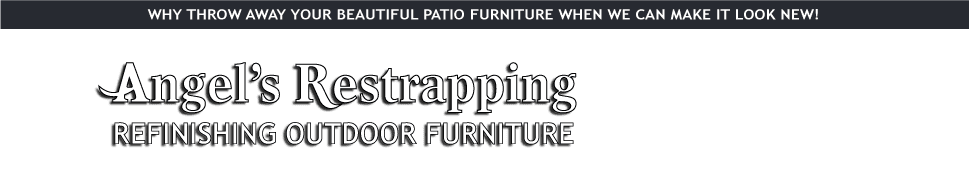 Furniture restrapping | Paterson, NJ | Angel's Restrapping | 973-942-9681