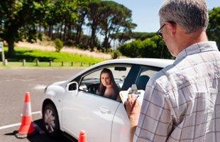 Car driving test