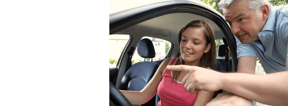 Driving class for lady