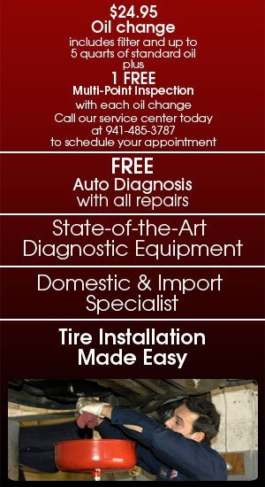Auto Diagnostics - Venice, FL - Dave's Garage