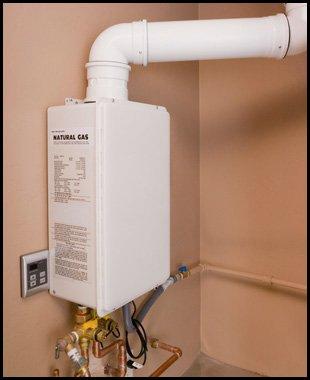 Wall mounted heater