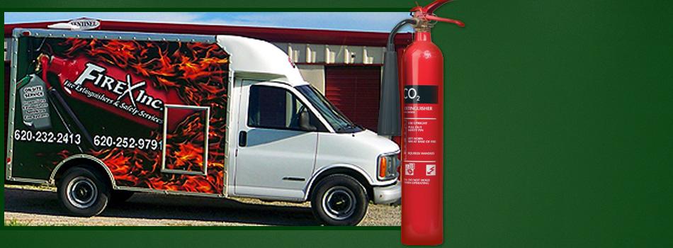 Fire extinguisher inspection  | Coffeyville, KS | Tulsa, OK | Firex Inc. | 877-703-4739