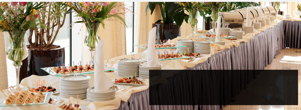 An special event catering service