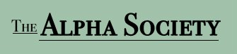 The Alpha Society - Logo