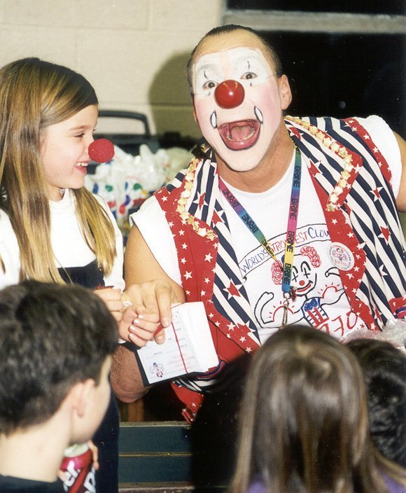Buffo The Clown In Action