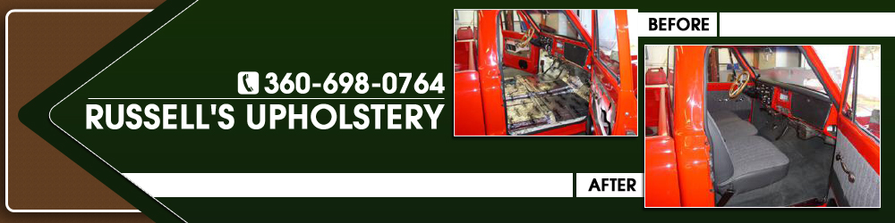 Auto and Marine Upholstery - Bremerton, WA - Russell's Upholstery