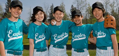 Jerseys team uniforms