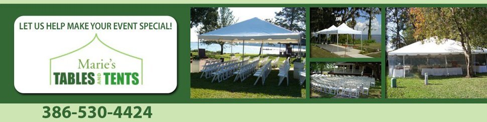 Marie's Tables & Tents - Palatka, FL