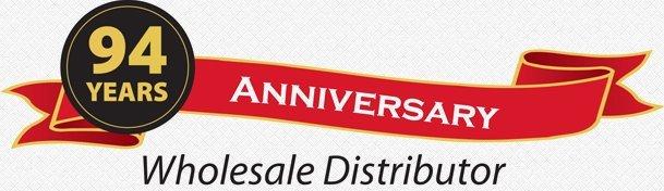 94 Years Anniversary Wholesale Distributor