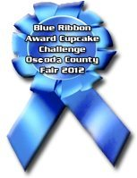 Blue Ribbon Award Cupcake Challenge Oscoda Country Fair 2012