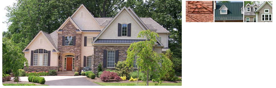 Luxurious Roofing Design