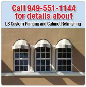 painting service - Orange County, CA - LS Custom Painting and Cabinet Refinishing  - Stucco