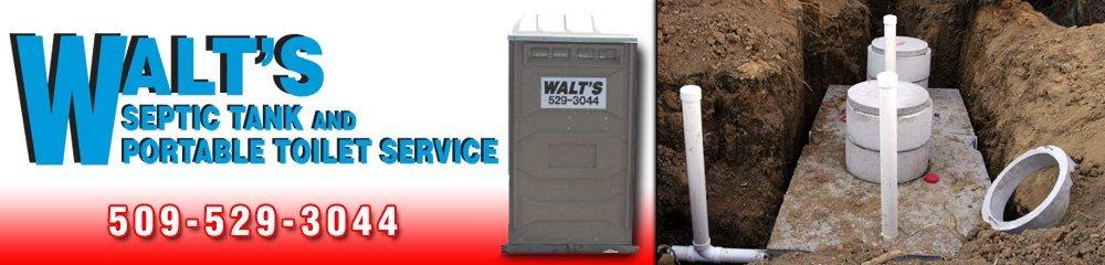 Septic Tank Services - Walla Walla, WA - Walt's Septic Tank And Portable Toilet Service