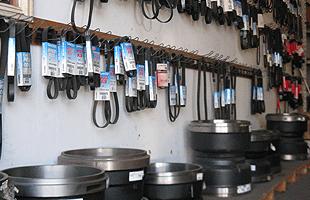 Truck parts shop