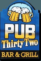 Pub 32 Restaurant, Bar & Grill - logo
