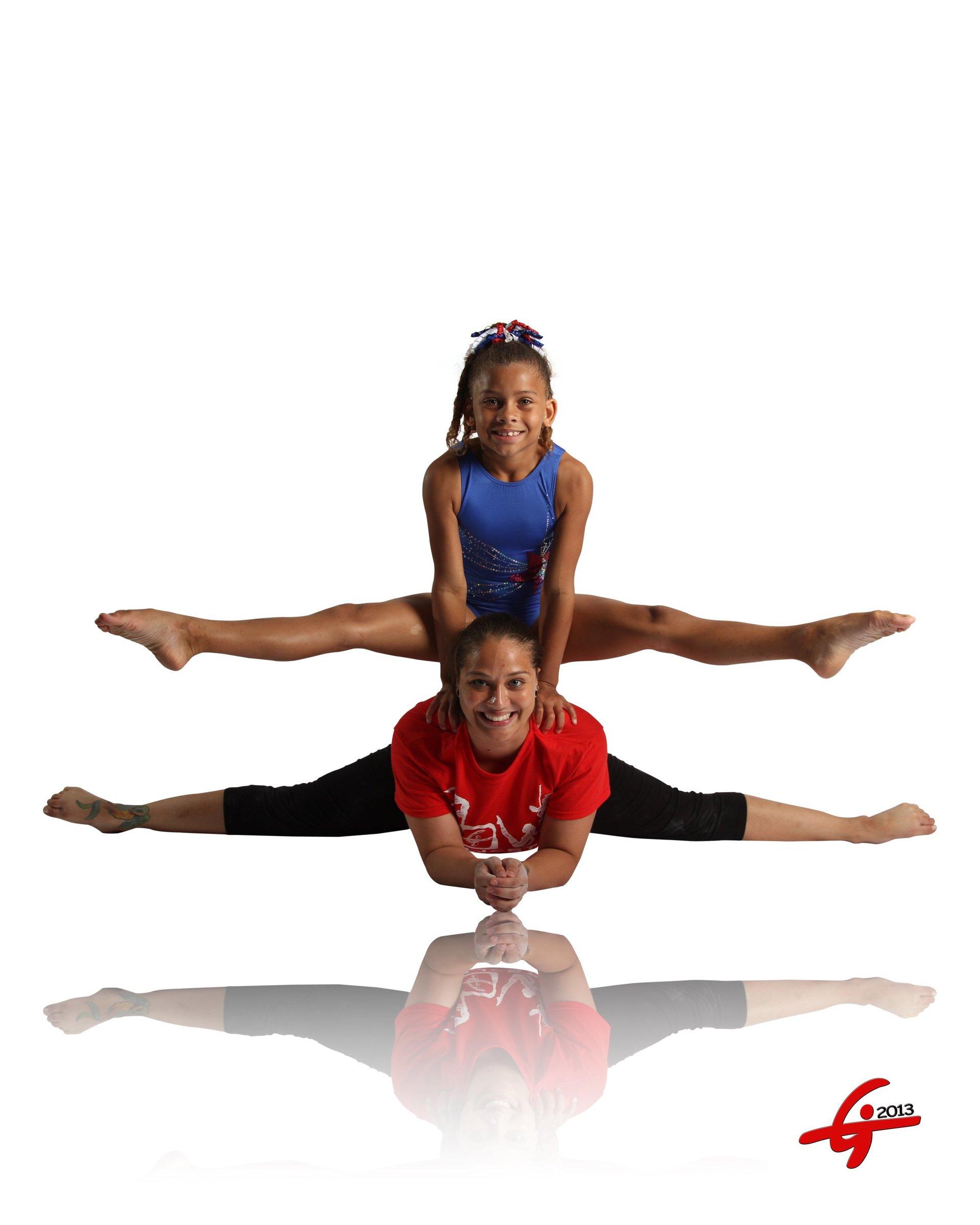 acro gymnastics team
